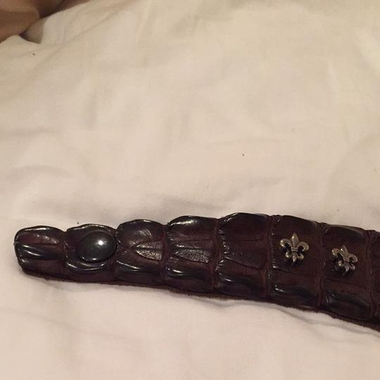 King Baby King Baby Alligator Skin bracelet