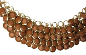 Tablots Faceted Bead Bib Necklace
