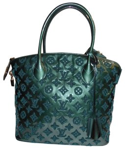 Louis Vuitton Monogram Perrier Limited Edition Lockit Tote in Green
