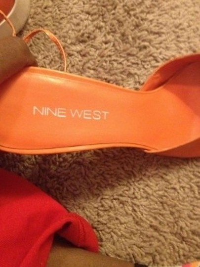 Nine West Orange Pumps