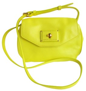 Marc by Marc Jacobs M0002653 Citron Color Clutch Cross Body Bag