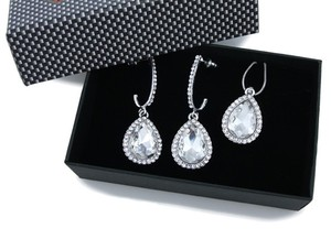 Austrian Crystal Bridal Jewelry Set