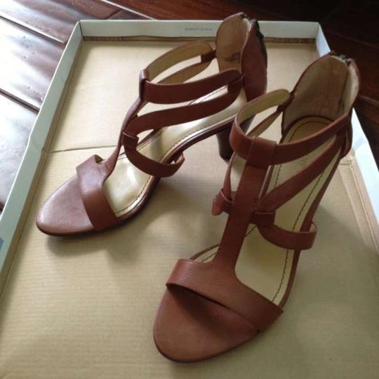Nine West cognac Sandals