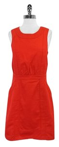 Marc by Marc Jacobs short dress Red Textured Cotton on Tradesy