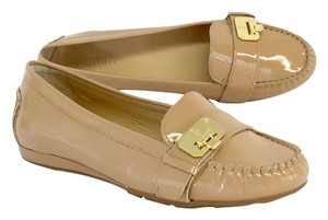 Cole Haan Nude Patent Leather Loafers Flats