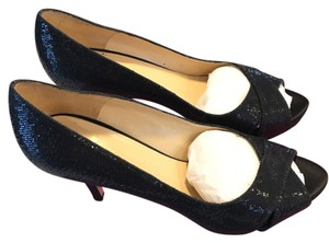 Kate Spade Billie Black Starlight Pumps