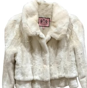 Juicy Couture Fur Winter Warm Jacket Blazer Coat