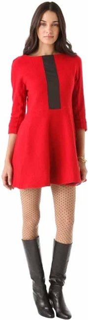 Preload https://img-static.tradesy.com/item/14438716/marc-by-marc-jacobs-red-blythe-doublewool-short-casual-dress-size-2-xs-0-1-650-650.jpg