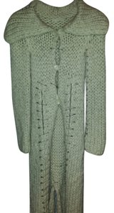 Company of Unorganized People Very Unique Decorative Pins Large Buttons Wide Hand Knit Coat