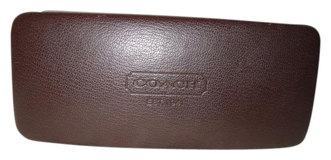 Item - Brown Clam Shell Sunglass Case