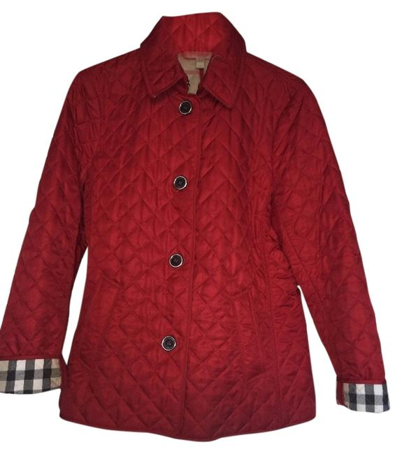 Item - Red Ashurst Quilted Jacket Size 12 (L)