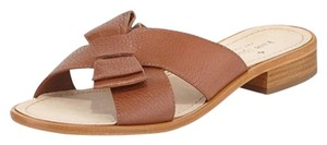 Kate Spade Bow Luggage Brown Sandals