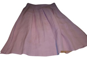 ZARA Pleated Classic Skirt LILAC