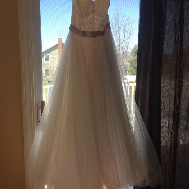Item - White Blush Agatha Long Formal Dress Size 12 (L)