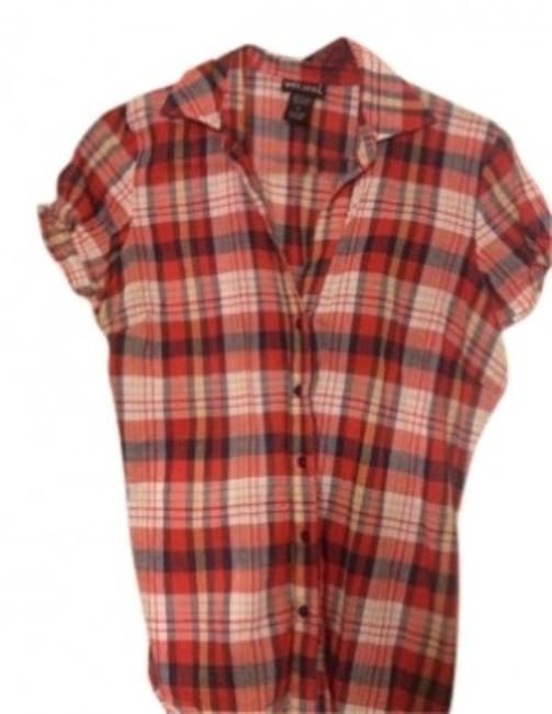 Preload https://img-static.tradesy.com/item/144402/wet-seal-red-plaid-button-down-top-size-12-l-0-0-650-650.jpg