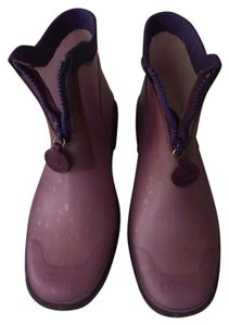 Chanel Rain Bootie Spring Lavender Boots