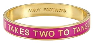Kate Spade Kate Spade It Takes Two To Tango Idiom Bangle Bracelet NEW NWT For A Dancer!