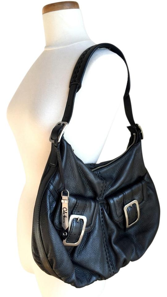Cole Haan Shoulder Village Soft Pebble Leather Xl Hobo Bag