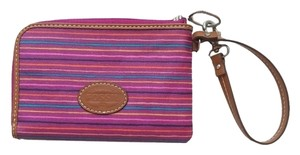 Fossil Key-per Wristlet in striped