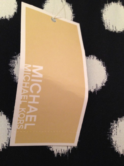 Michael Kors Top Dark blue with white and yellow