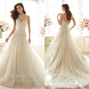 Sophia Tolli Y11637 - Marquesa Wedding Dress
