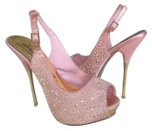 ShoeDazzle Absolutely Stunning Like New Light Pink Platforms