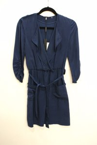 Elie Tahari Chambray Tencel Tera Dress