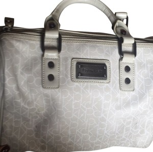 Calvin Klein Satchel in White
