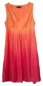 INC International Concepts short dress Red and orange on Tradesy