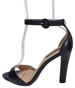 Zara Collection Size 8 Sexy Ankle Strap Blogger Fav Black Sandals