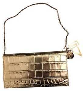 Versace Chain Gold Clutch