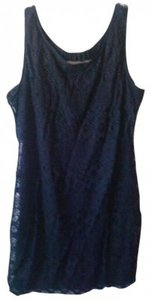 Other Lacy Goth Gothic Short Club Night Out Sexy Edgy Sleeveless Large 12 Dress