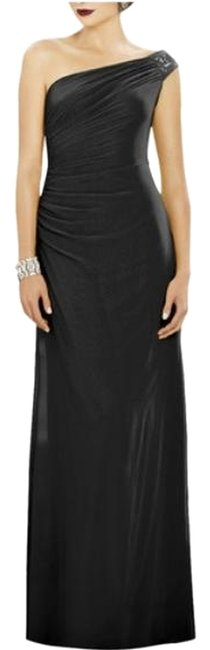 Item - Black 2884 Long Night Out Dress Size 4 (S)