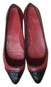 Jack Rogers Leather Red Flats