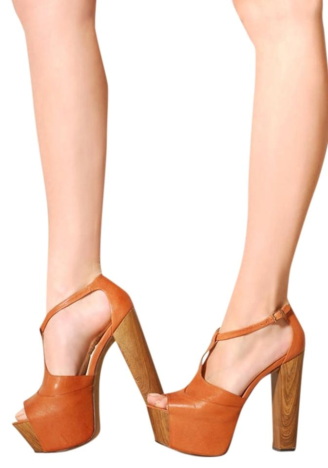 06d1bf0d2ea Jessica Simpson Dany Pump Whiskey Babydoll Tan Platforms Image 0 ...