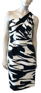 Charles Chang Lima short dress Black/White on Tradesy