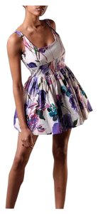 Jack by BB Dakota short dress Watercolor Cupcake Fit & Flare Date Night Spring on Tradesy