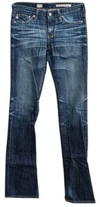 AG Adriano Goldschmied Goldschmiied Straight Leg Jeans-Medium Wash