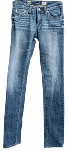 AG Adriano Goldschmied The Angel Dark Boot Cut Jeans-Medium Wash