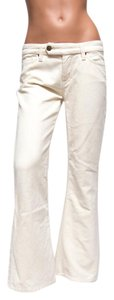 7 For All Mankind P12825iu Flare Leg Jeans-Light Wash