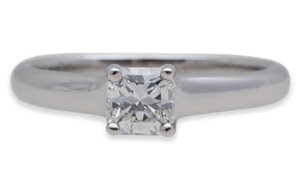 Tiffany & Co. Tiffany & Co Lucida Diamond Engagement Ring Platinum