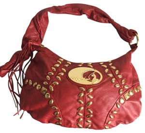 Baby Phat Studded Embellished Crystals Hobo Bag