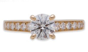 Cartier Cartier Solitere Diamond Engagement Ring.