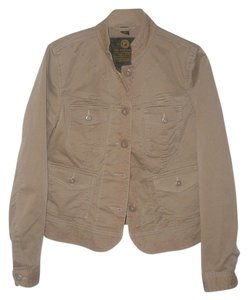 Lucky Brand Natural Womens Jean Jacket