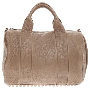 Alexander Wang Leather Taupe Satchel