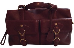 Cole Haan Tote in Red/ Wine