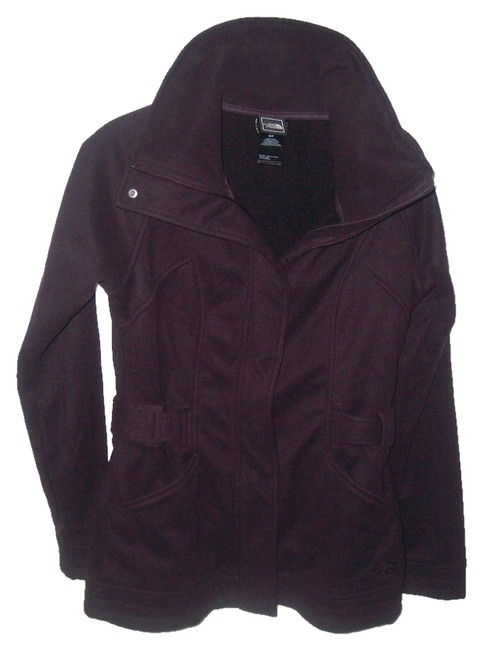 The North Face Purple Fleece Unlined Jacket Size 6 (S) The North Face Purple Fleece Unlined Jacket Size 6 (S) Image 1