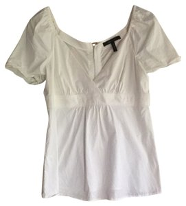 BCBGMAXAZRIA Top White
