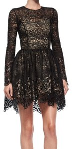 Alexis Lace Longsleeve Cocktail Dress