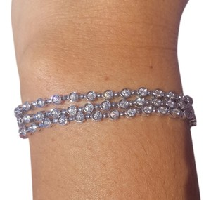 Other Gorgeous, GI CERTIFIED, Triple Strand, Diamond Tennis Bracelet!!!